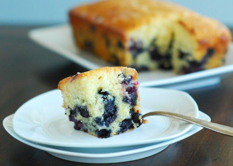 Sticky Blueberry Lemon Bread