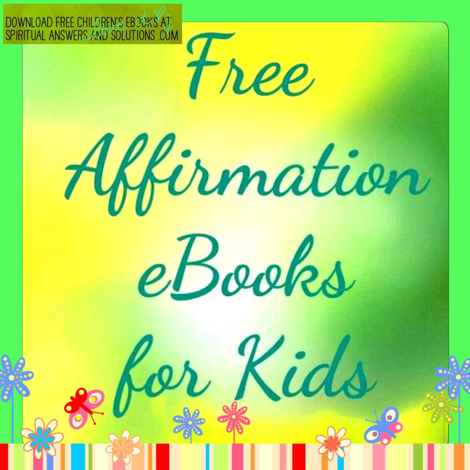Affirmations And Guidedmeditation For Kids