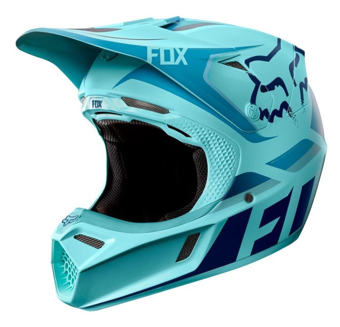 Fox Racing V3 Seca Le Helmet Dirt Bike Gear Dirt Bike Helmets