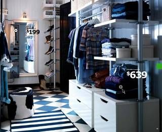 ikea expedit closet hacks - Google Search