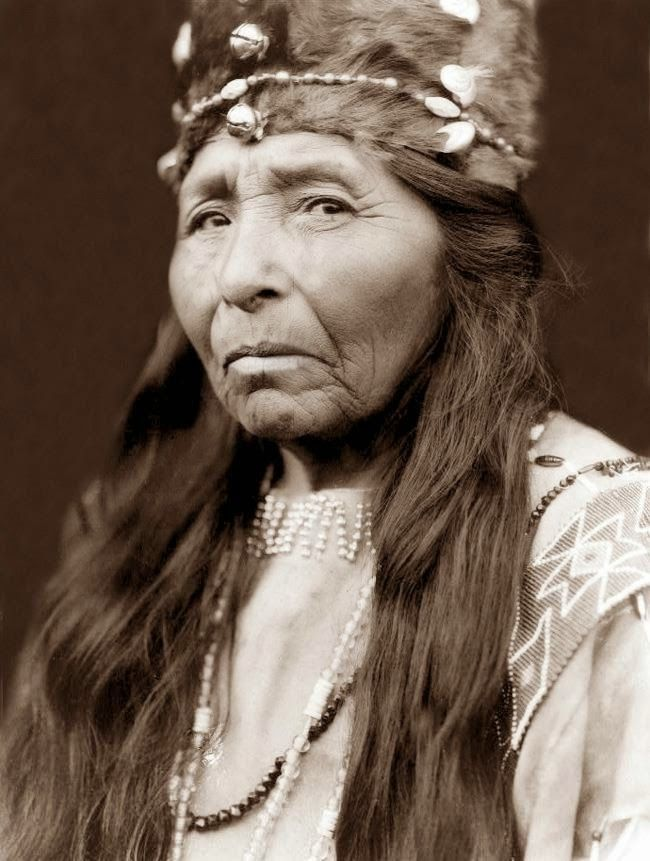 Vintage Everyday Portraits Of Native People From North America In