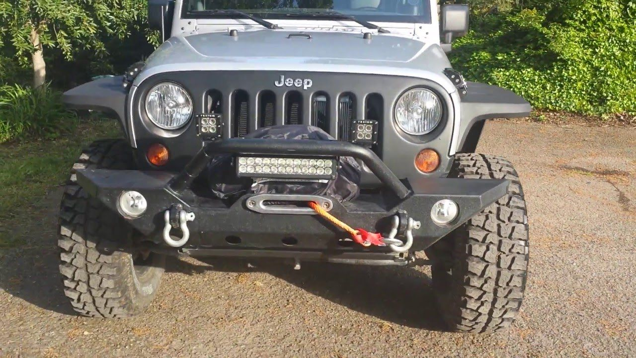 Rugged Ridge Hurricane Flat Fender Flares 07 16 Jeep Wrangler