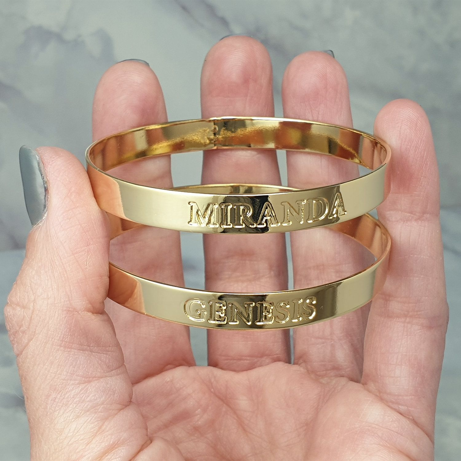 Gold Bangle Bracelet For Women With