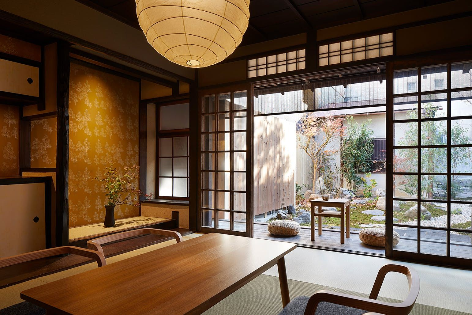 Interieur Maison Japonaise Traditionnelle blending japanese traditional and modern architecture, this