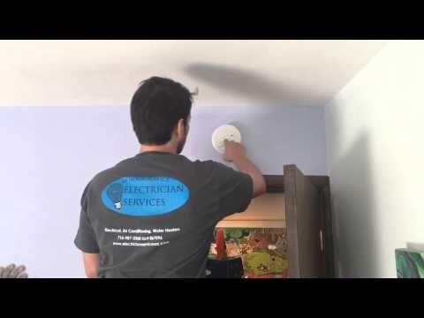 Smoke Detector Install #smokedetector #carbonmonoxidedetector http://www.electricianservicesoc.com/