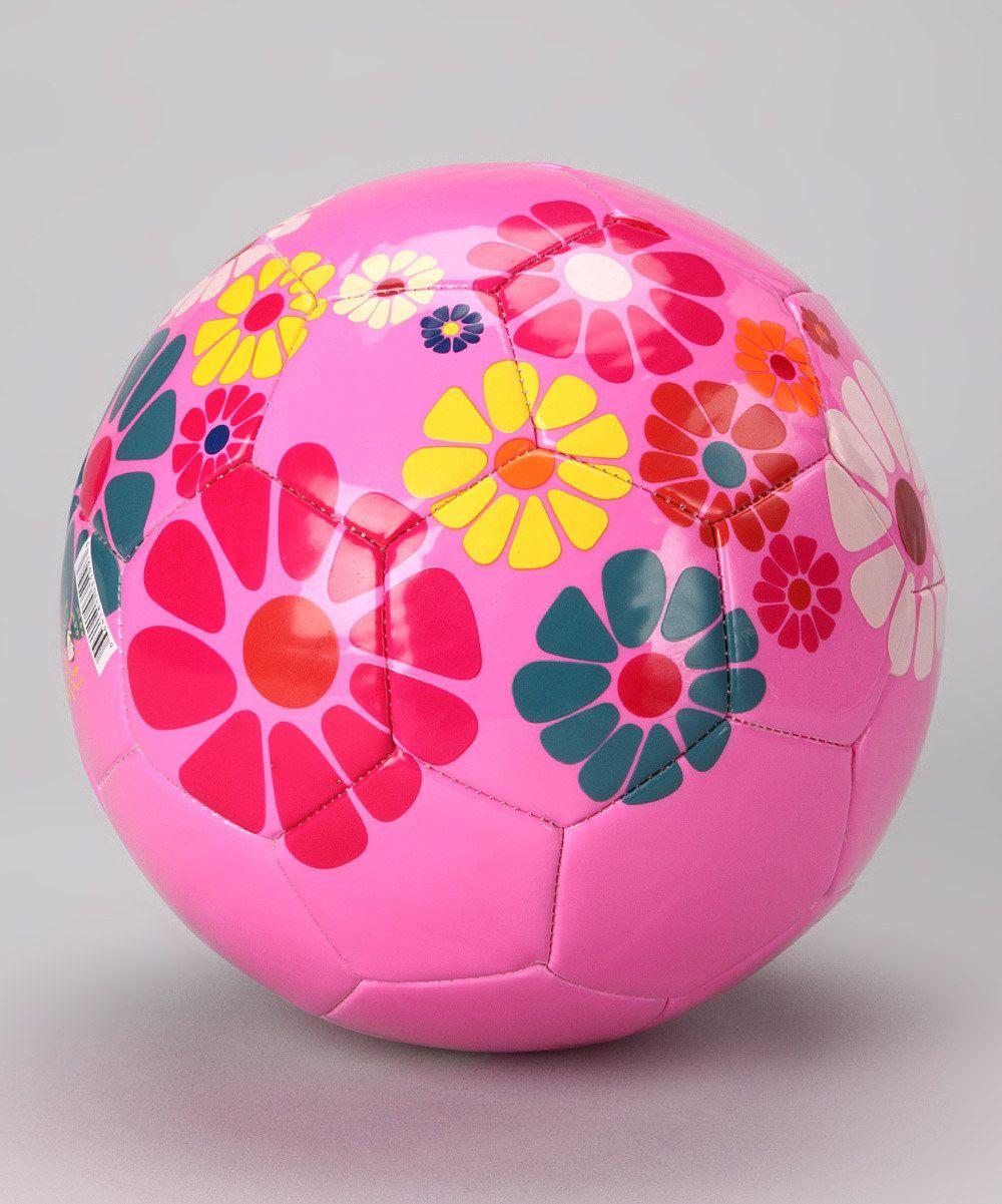 Pink   Blue Blossom Soccer Ball from Vizari  d5c8917f5710a