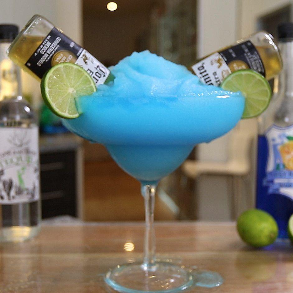 Blue Bulldog Margarita Tipsy Bartender Recipe Tipsy Bartender Frozen Drinks Tipsy Bartender Recipes