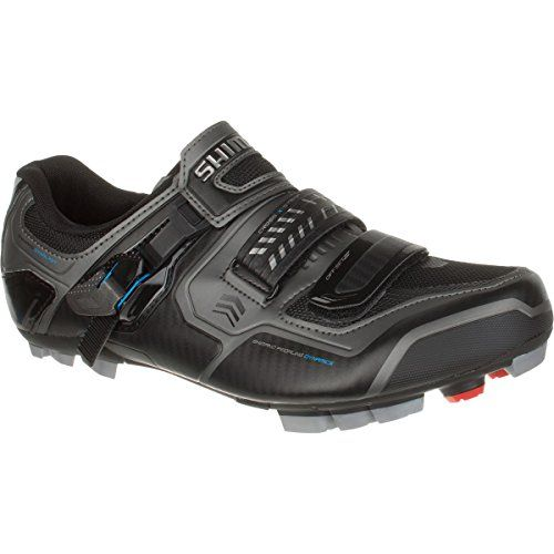 Shimano Shxc61 Wide Mens Mountain Bike Shoes Black Size 45