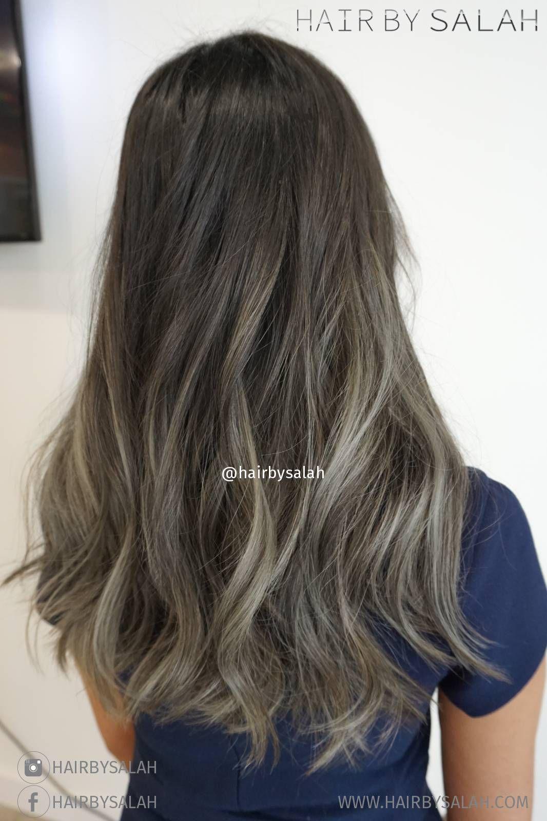 Ash Blonde Balayage Ash Blonde Balayage Hair Color