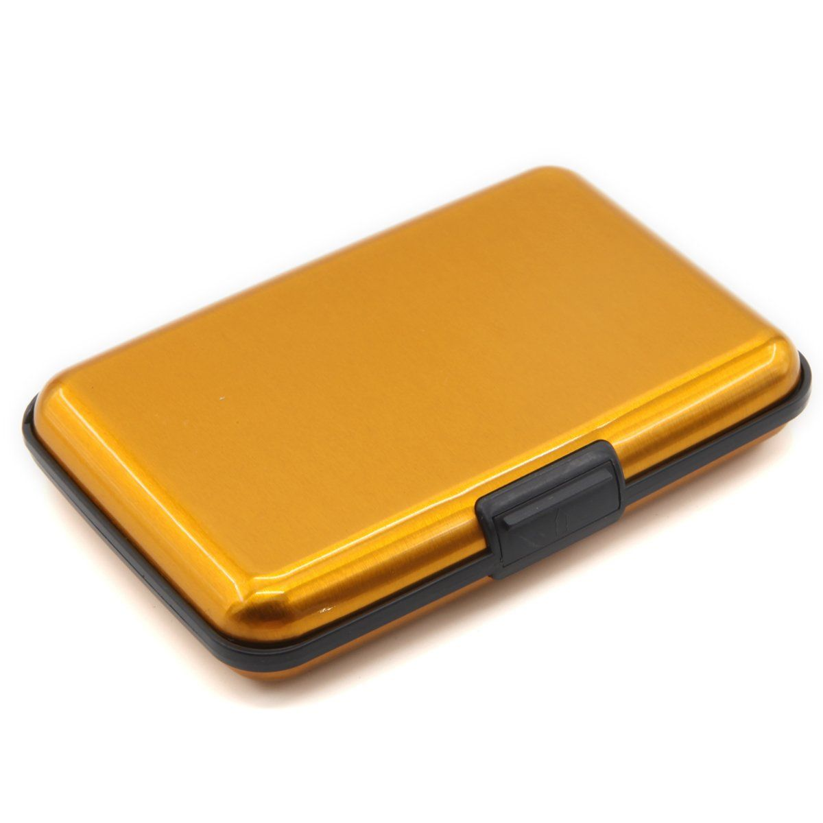 Deezone latest aluminum rfid blocking credit card holder