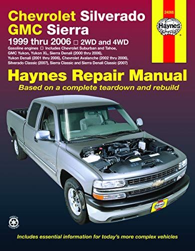 Read Book Chevy Silverado Gmc Sierra Pickups 9906does Not Include