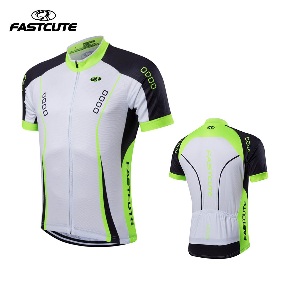 Fastcute 2017 Cycling Jersey Short Sleeve Maillot Ropa Ciclismo
