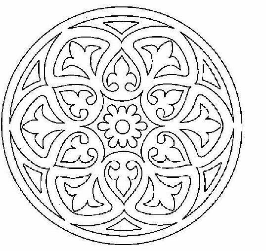 Pin de amparo lopez aly en Ceramica | Pinterest | Mandalas, Bordado ...