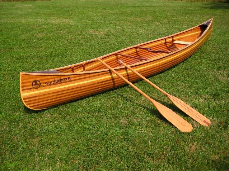 Hand made Huckleberry Canoe built by Nick Offerman. Western red ...