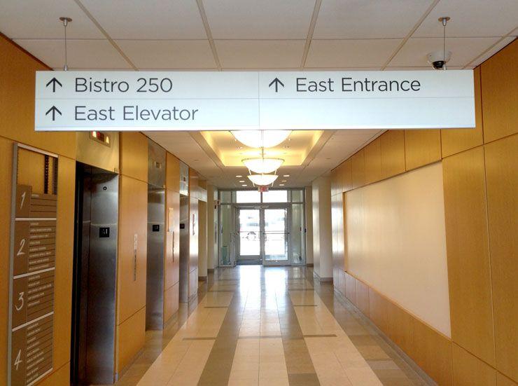 Humc Pascack Valley Hospital Wayfinding Sign System By Ags Ags Wayfinding Signage Wayfinding Signage