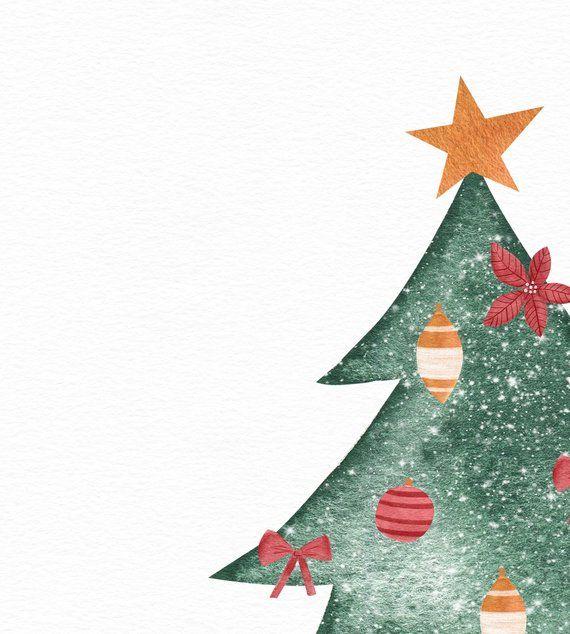 Christmas Tree Print Christmas Wall Art Christmas Printable Etsy Christmas Phone Wallpaper Christmas Card Illustration Christmas Wall Art