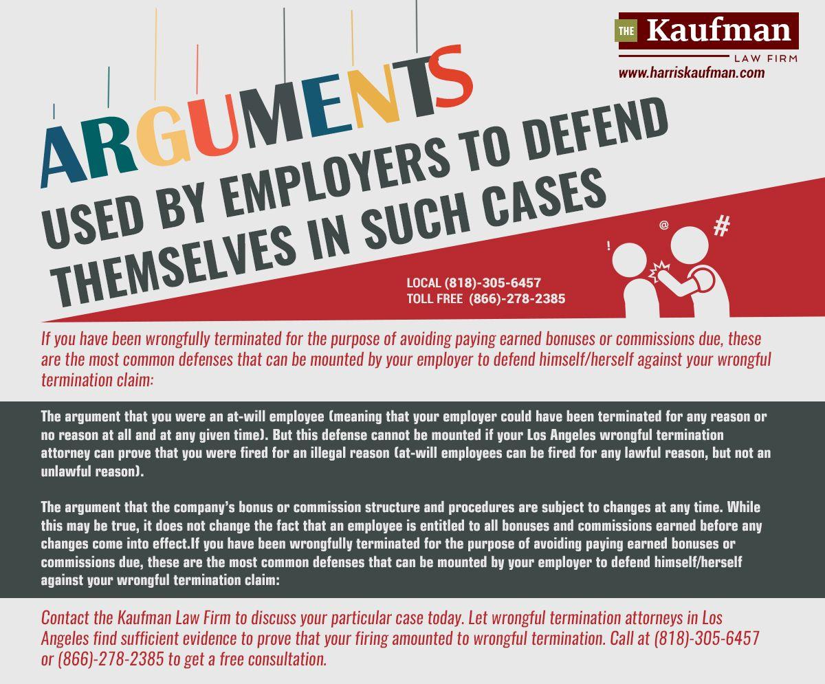 Wrongful Termination Attorney Los Angeles Unlawful Termination Lawyer Employment Discrimination Employment Law Law Firm
