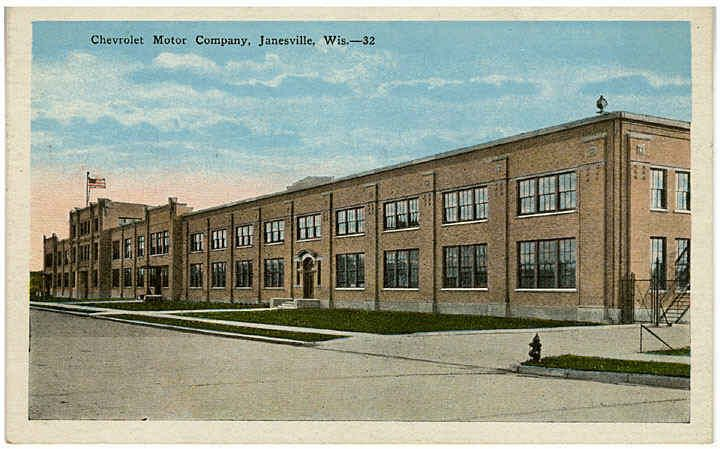 Janesville Images Title Chevrolet Motor Company Offices
