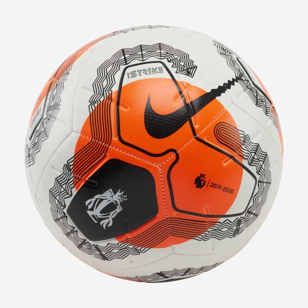 Nike Premier League Strike Soccer Ball White In 2020 Soccer Ball Premier League Soccer