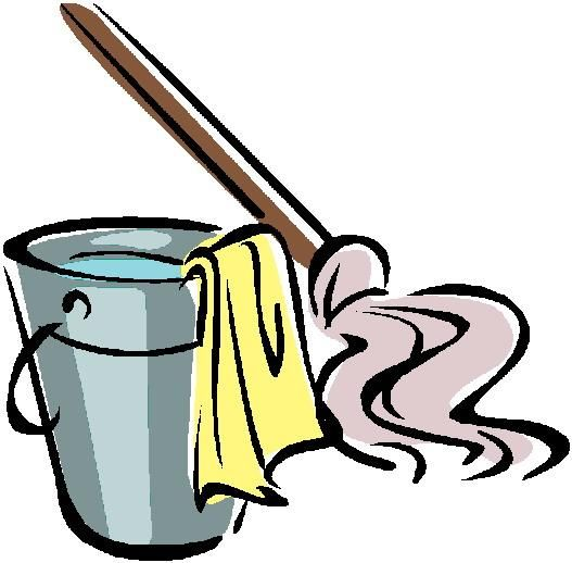 Funny Cleaning Clipart...