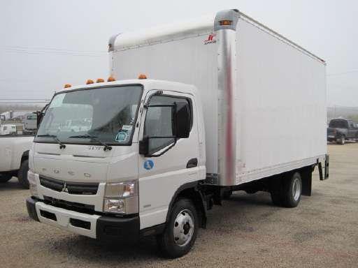 2019 Mitsubishi Fuso Fe140g Box Truck Straight Truck Dry Van