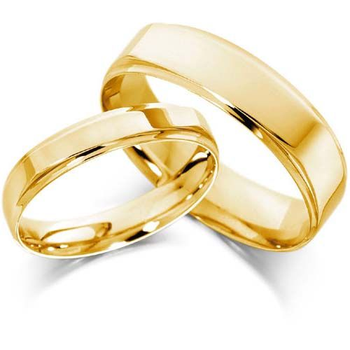 simple gold wedding ring sets wedding dresses cakesjewelry trends - Gold Wedding Ring Sets