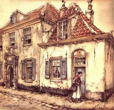 Stop...have a chat: Art Friday: Anton Pieck