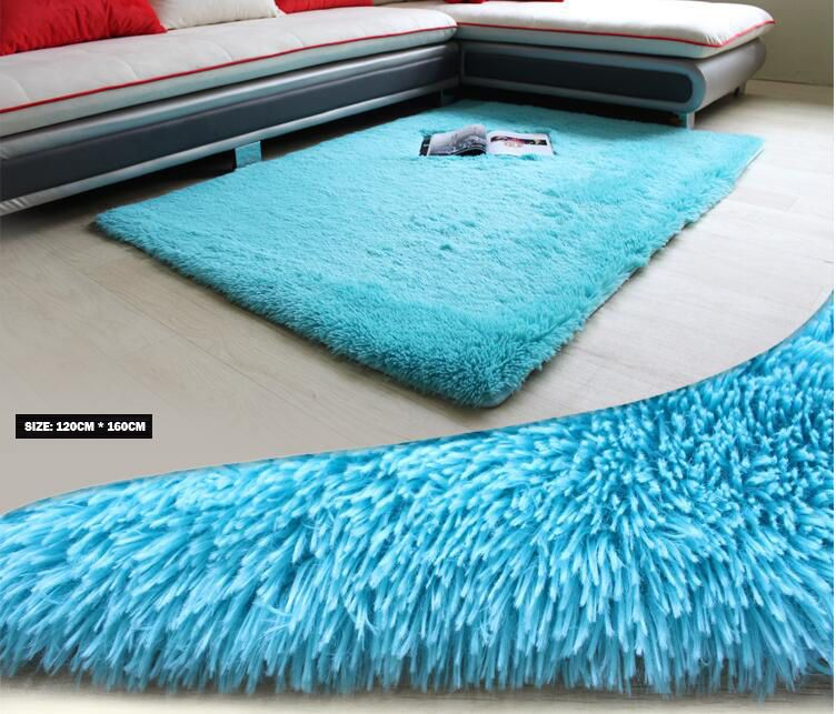 4 x 5  Blue Area Carpet for Bedroom / Living Room / Area Rugs  #HUAHOO #Contemporary