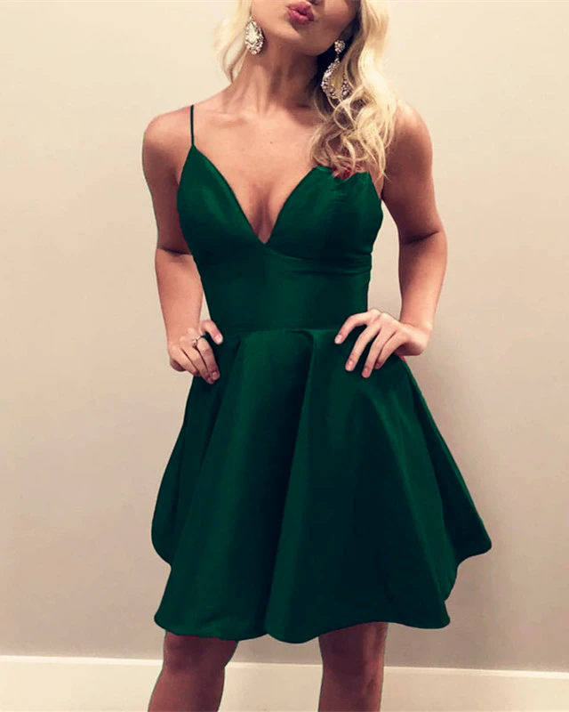 43++ Dark green homecoming dress ideas in 2021