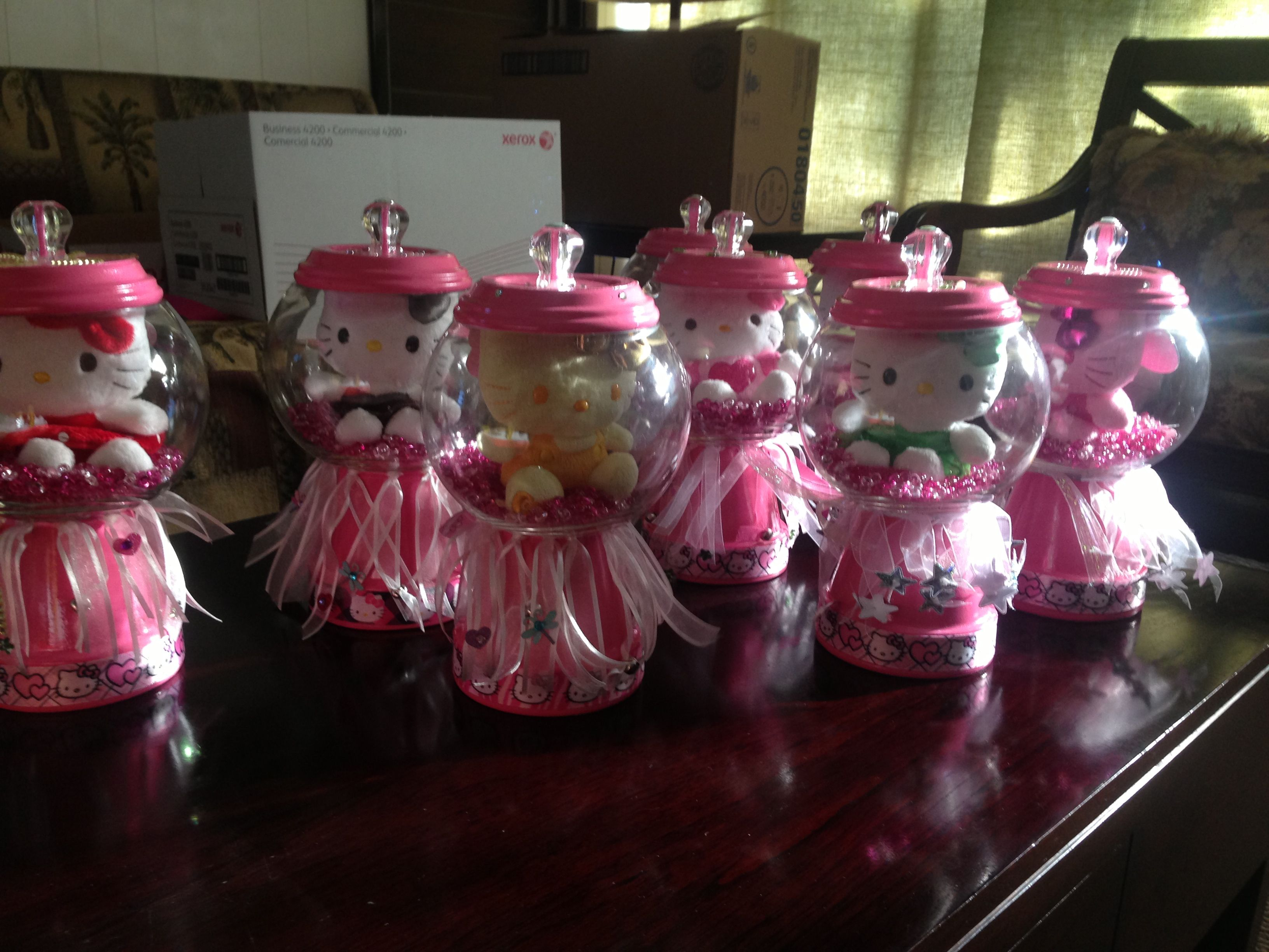 Hello Kitty Centerpieces party ideas Pinterest