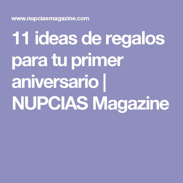 11 ideas de regalos para tu primer aniversario  | NUPCIAS Magazine