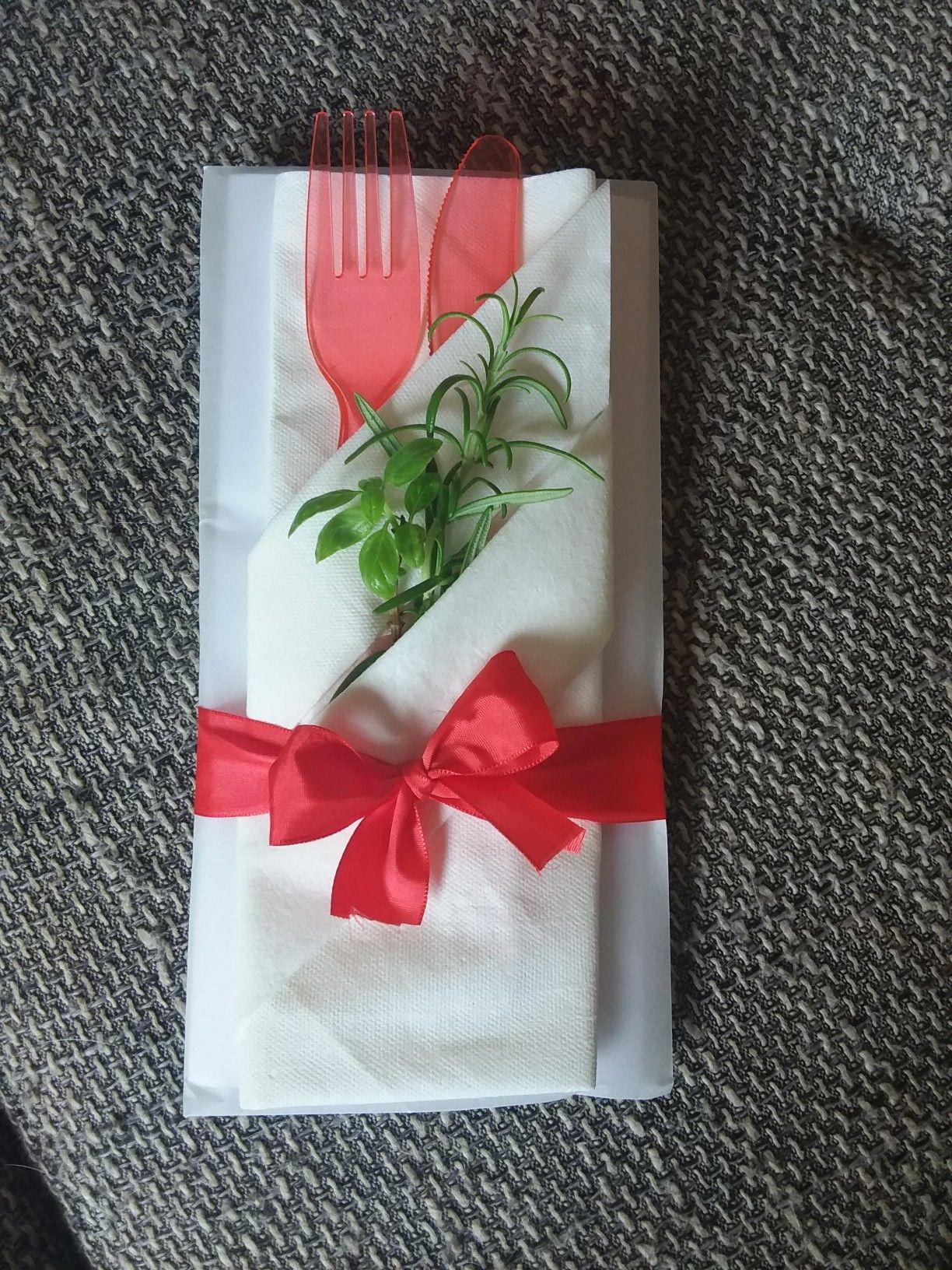 Restaurant Gutschein Verpacken
