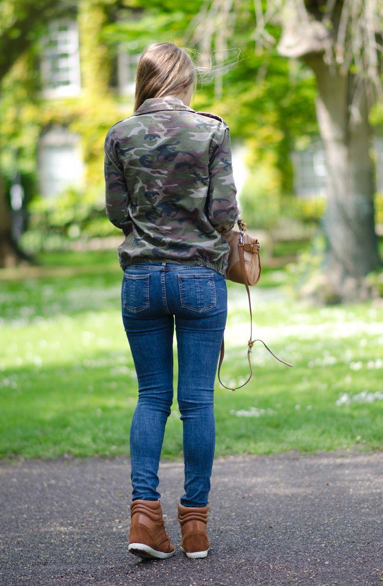 jeans teen ass