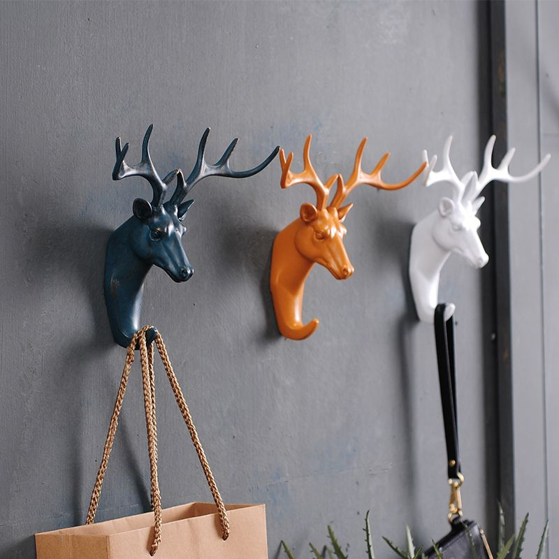 Find More Information About 3d Deer Animal Decoration Hook Personalized Wall Animal Hooks Decorative Wall Hooks Animal Decor