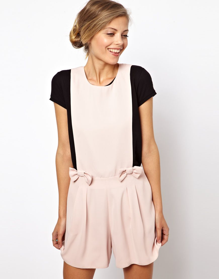 Pink Playsuit by Asos. Buy for $33 from Asos