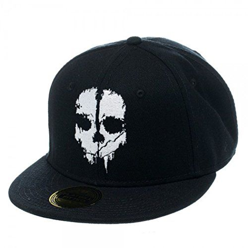 51f4cfe5484 Call of Duty Ghosts Logo Men s Black Fitted Cap - OSFM for only  17.99 You  save   7.01 (28%)