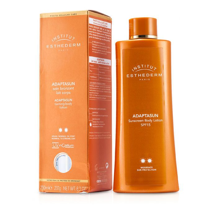 Adaptasun Tanning Body Lotion (Normal to Strong Sun) 250ml/8.3oz - Product Image