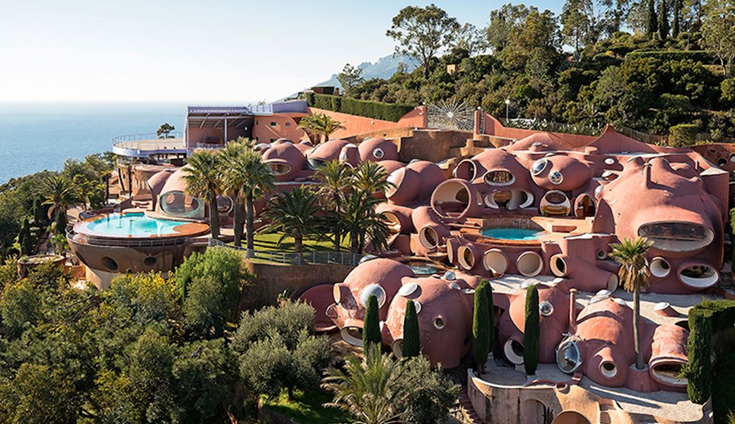 The revolutionary couture designer Pierre Cardin's Palais Bulles or