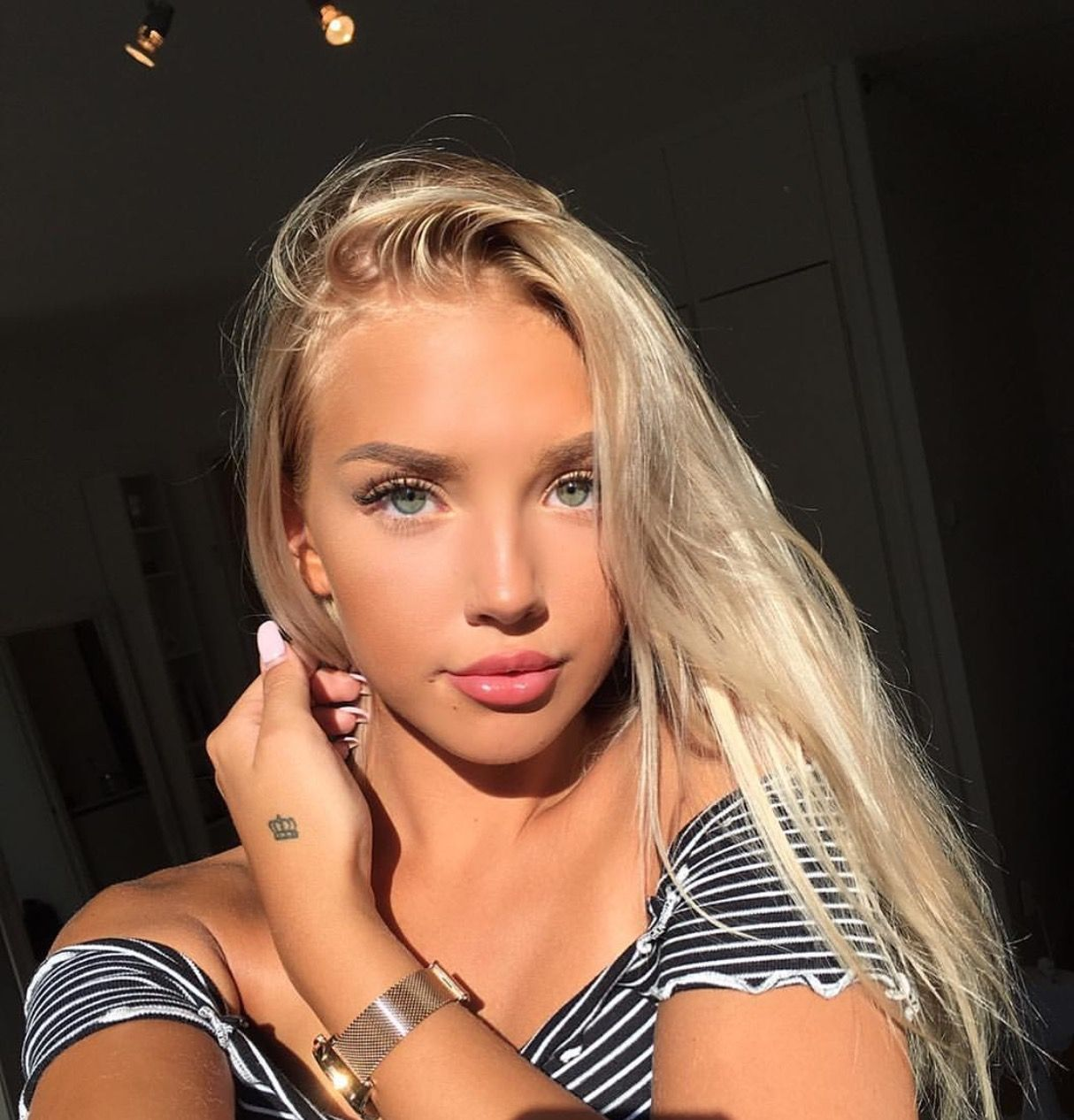 Pin By Cute Babx On Instagram Photos Pretty Blonde Girls Pretty