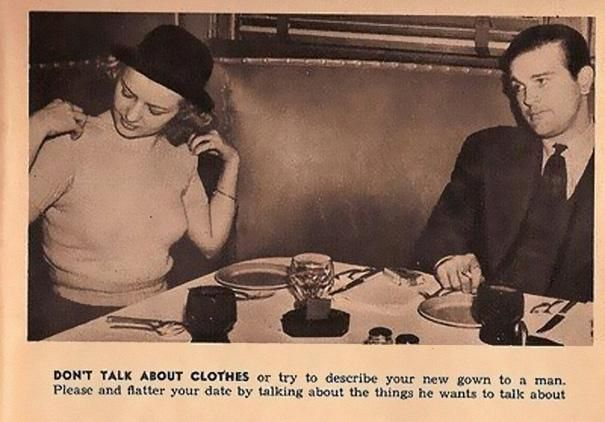 13 hilarious and sexist dating tips from 1938