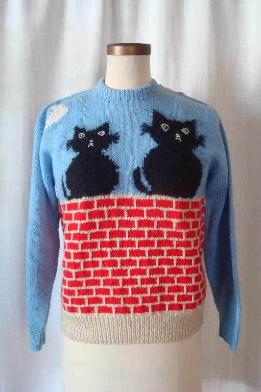 Vintage ALLEY CAT Sweater