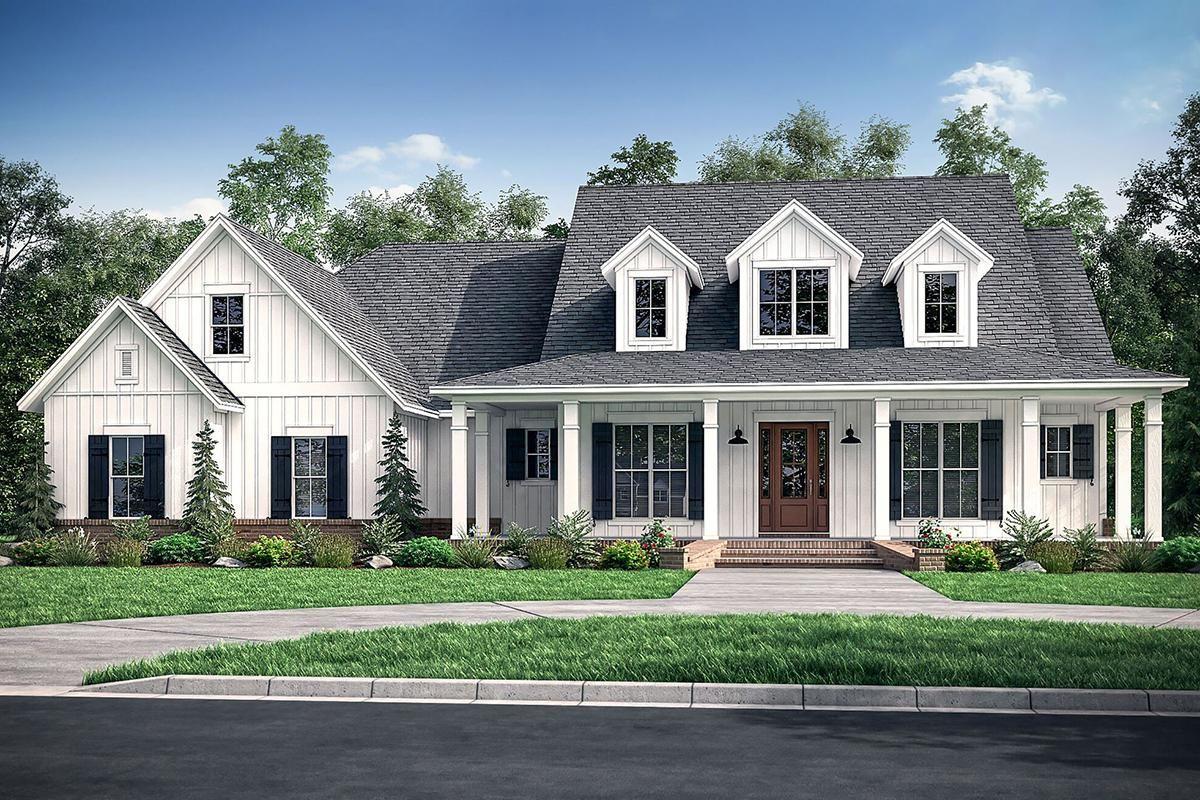 House plan 04100179 modern farmhouse plan 2926 square