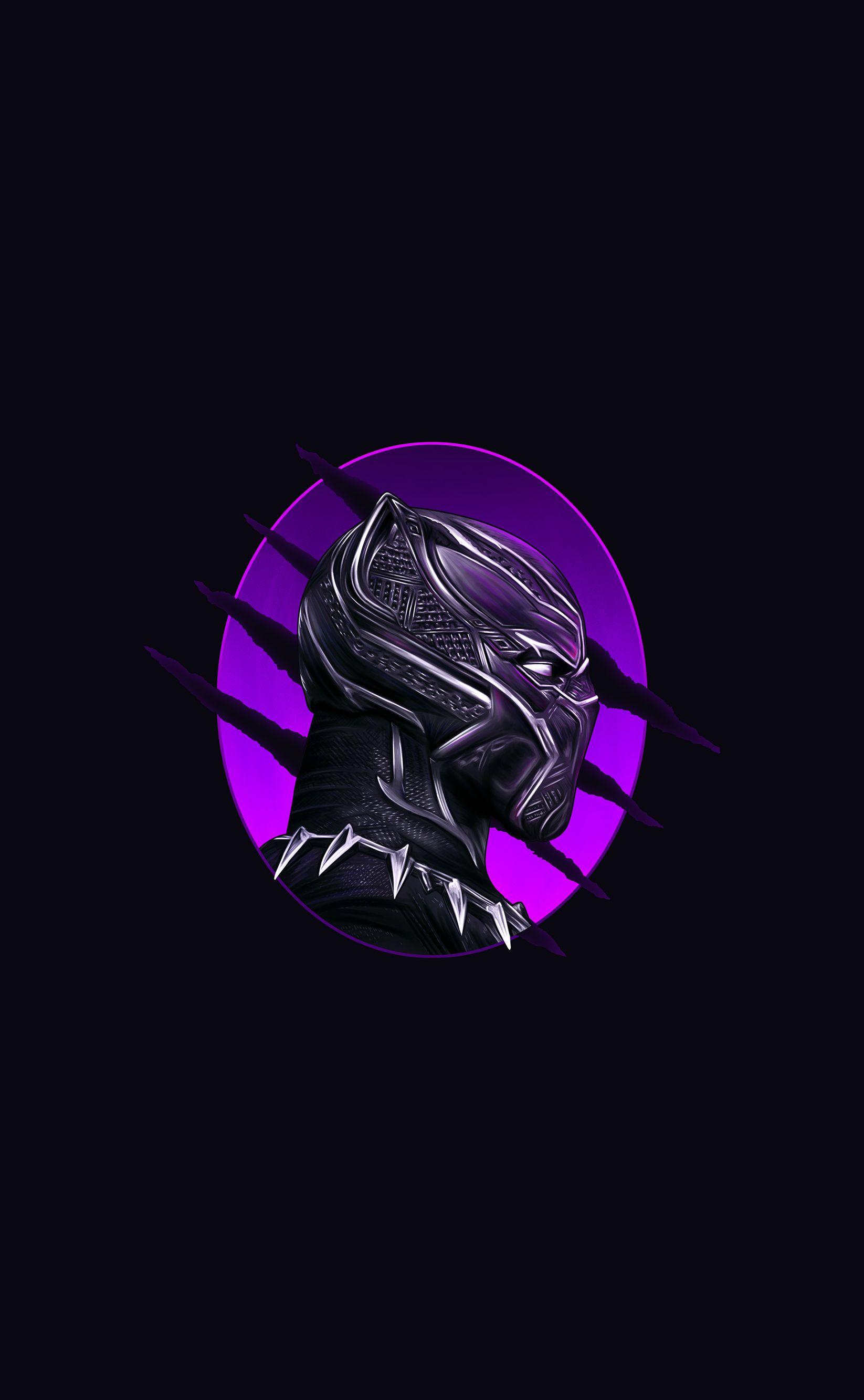 Amoled Wallpaper Black Panther Black Panther Panther Wallpaper