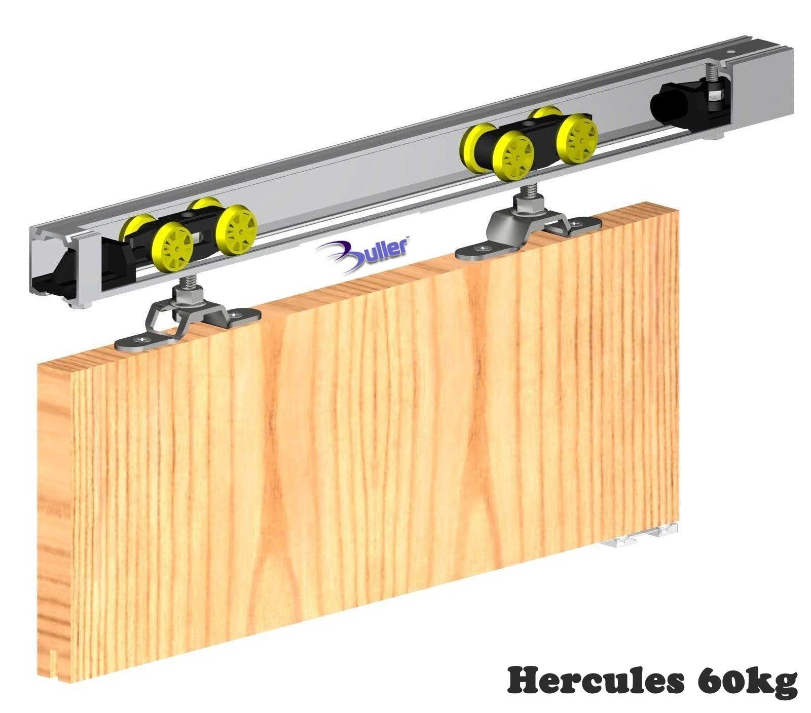 Hercules Sliding Door Gear Top Hung Track And Rollers For 60kg Or 120kg Doors From Buller Ltd Barn Doors Sliding External Sliding Doors Sliding Folding Doors