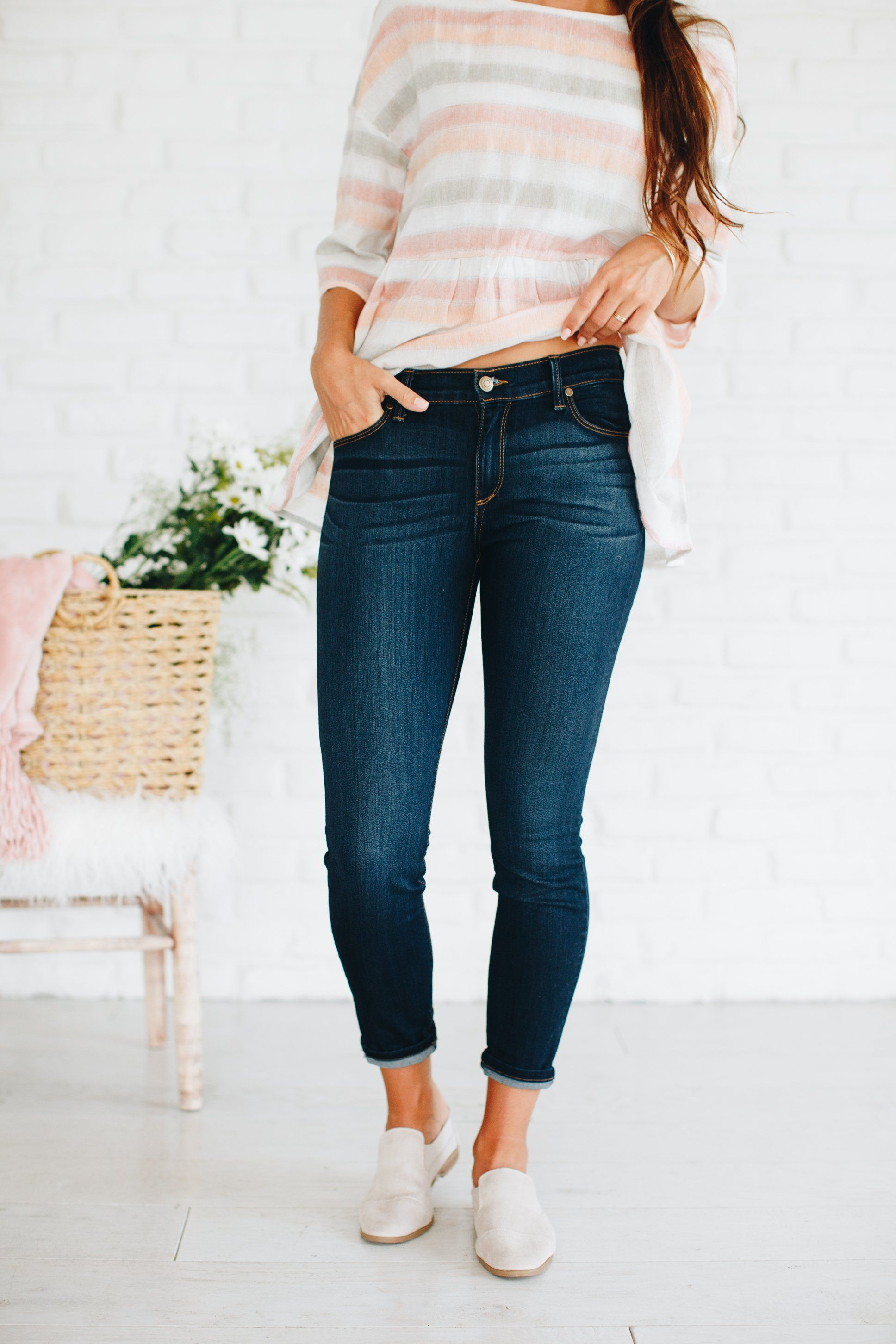 Freja Rolled Crop Pants Pistola Denim Sale Purchase Sale Comfortable Clearance 2018 Wholesale Price Cheap Online KBAIiD