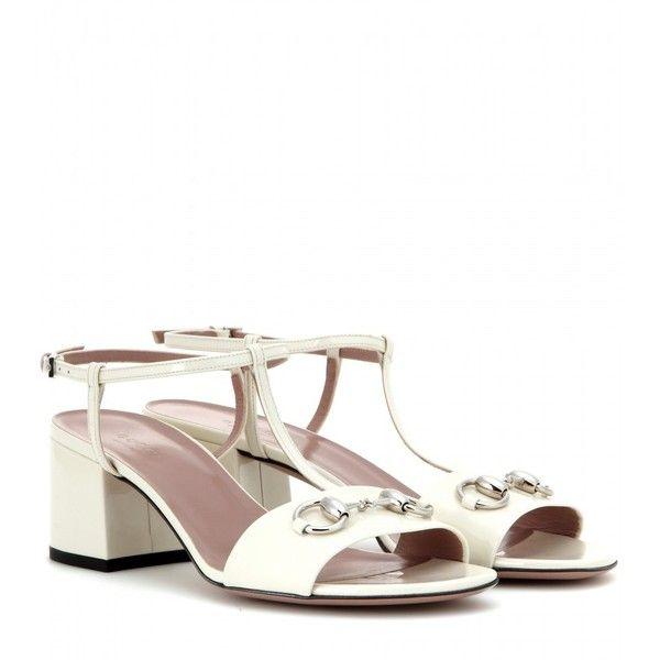 431bb98af497 Gucci Leather T-Bar Sandals (1