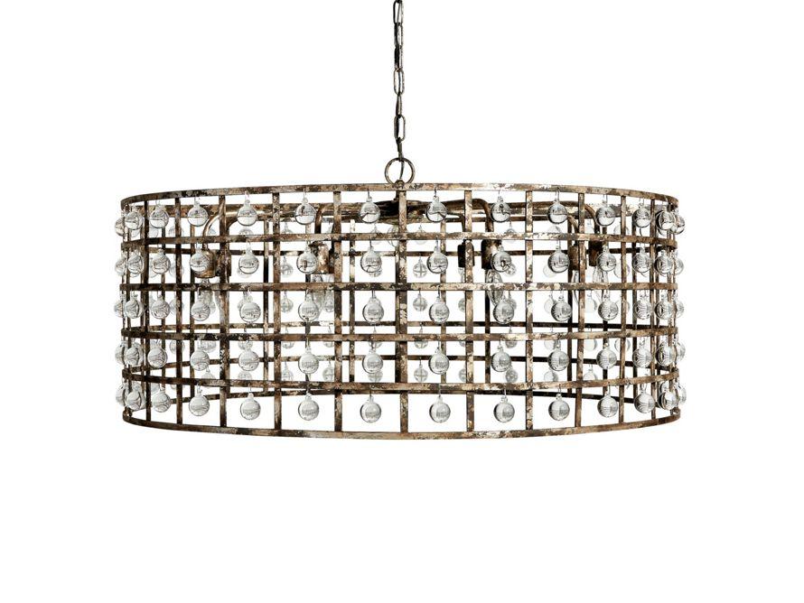 La Cage 8 Light Chandelier Arhaus Furniture Lighting In