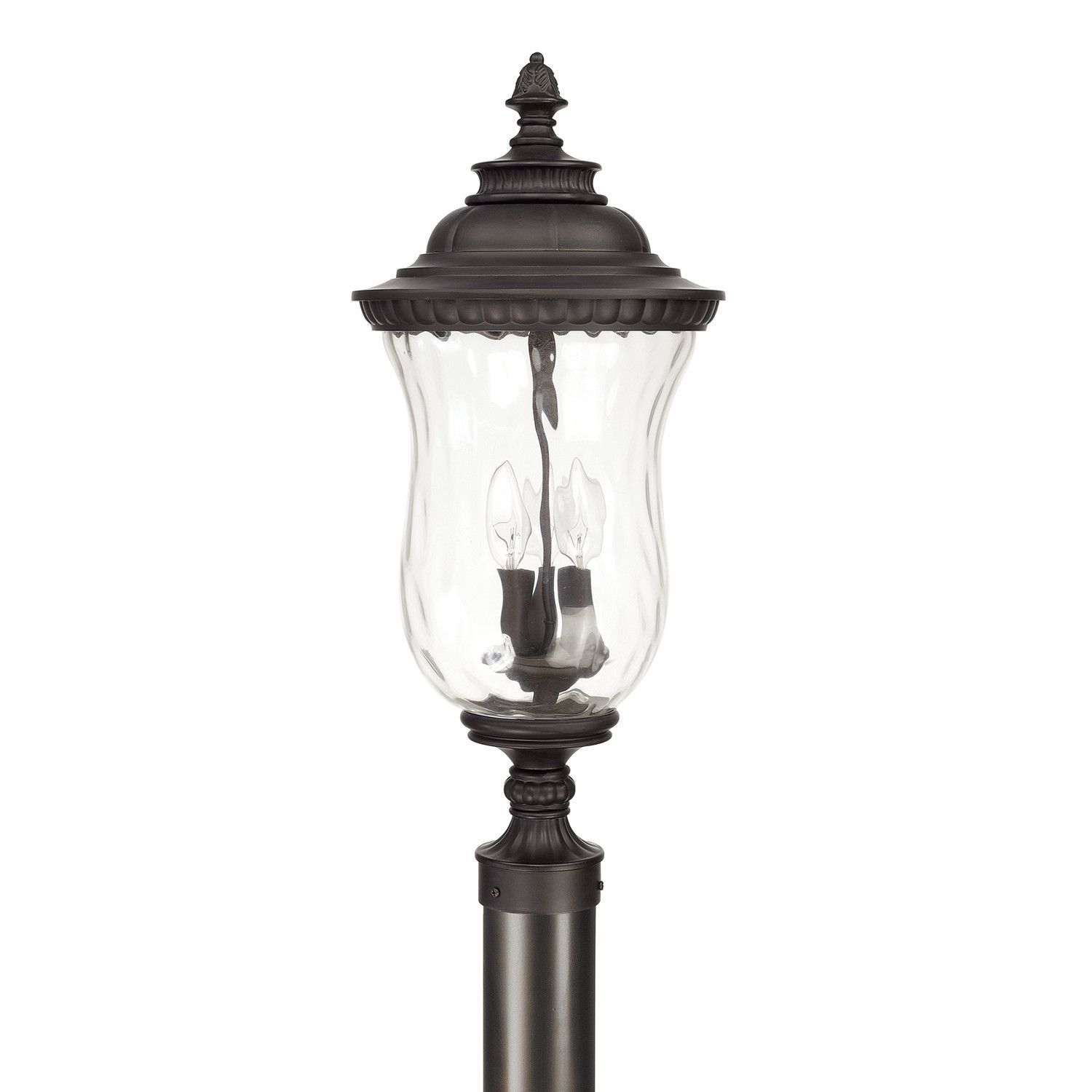 3 lamp post light outdoor lamp outdoor post lantern products pinterest