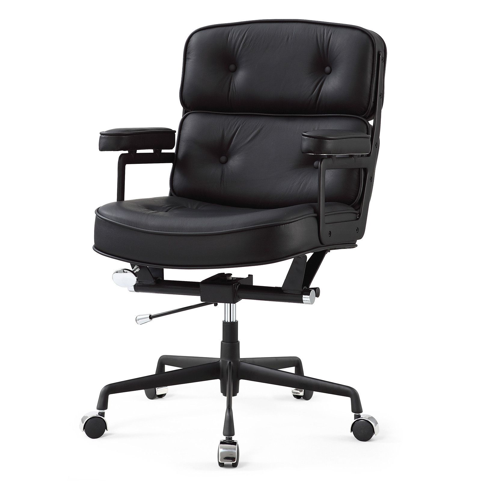 M340 Office Chair In Italian Leather (Color Options)