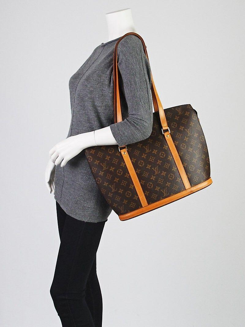 9e1e8dbd67bc Louis Vuitton Monogram Canvas Babylone Tote Bag